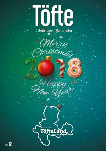 Töfte Regionalmagazin 12/2017 - Happy New Year!