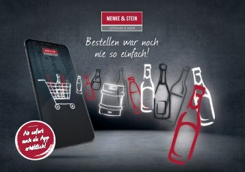 Menke & Stein Onlineshop Flyer