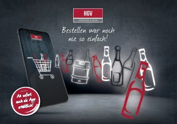 HGV Onlineshop Flyer