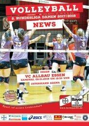 Spieltagsnews Nr. 7 gegen VC Allbau Essen