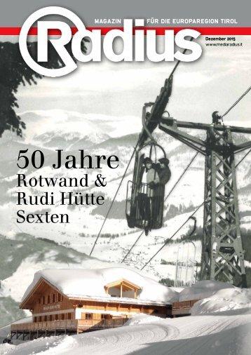 Radius Alpine Technologien Insert 2015