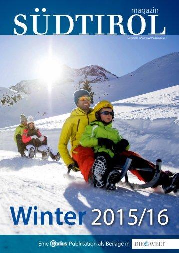 Radius Magazin Winter 15_16