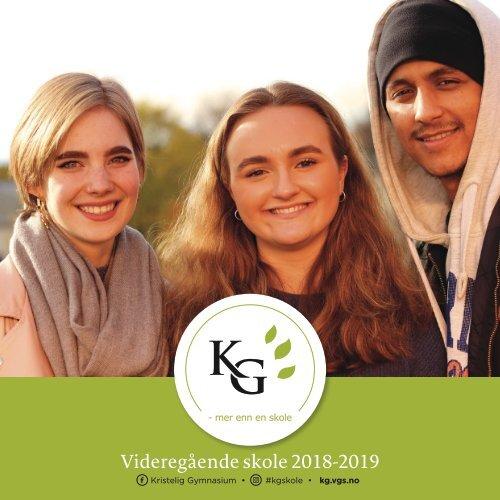 KG brosjyre VGS 2018