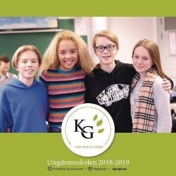 KG brosjyre USK 2018