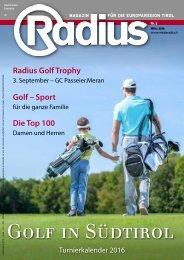 Radius Golf 2016