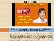 Can't send emails from Gmail? Contact us +1-888-664-3555 through our Gmail customer care number