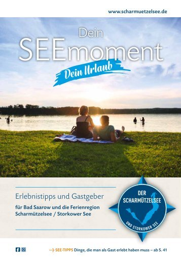 Dein SEEmoment - Erlebnistipps und Gastgeber für Bad Saarow und die Ferienregion Scharmützelsee / Storkower See