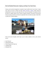 Hire the Rubbish Removals in Sydney and Keep Your Hand Clean