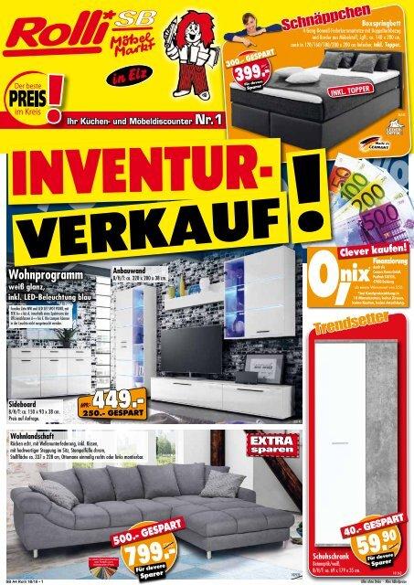 b342987d0590c1 Inventur-Verkauf bei Rolli SB-Möbelmarkt in 65604 Elz bei Limburg - der  beste Preis im Kreis!