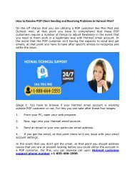 How to Resolve POP Client Sending and Receiving Problem of Hotmail email call 1-888-664-3555