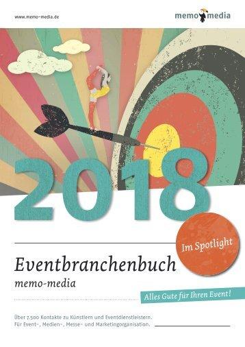 Eventbranchenbuch 2018 Spotlight