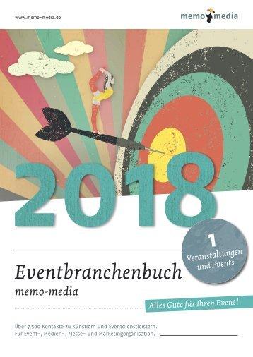 Eventbranchenbuch 2018 Veranstaltungen & Events