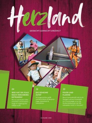 Herzland - Gedacht.Gemacht.Erzählt | Ausgabe 2018