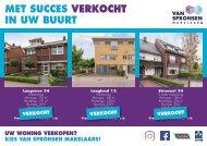 Van Spronsen Makelaars, Succesvol verkocht in postcode 3344, H.I. Ambacht!