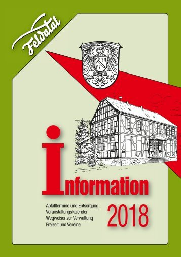 Feldatal - digitale Broschüre 2018
