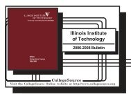 Copyright & Disclaimer Information - Illinois Institute of Technology