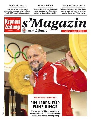s'Magazin usm Ländle, 6. Jänner 2018