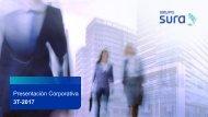 Grupo SURA Presentación Corporativa 3T 2017