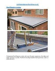 Roof Repairs London