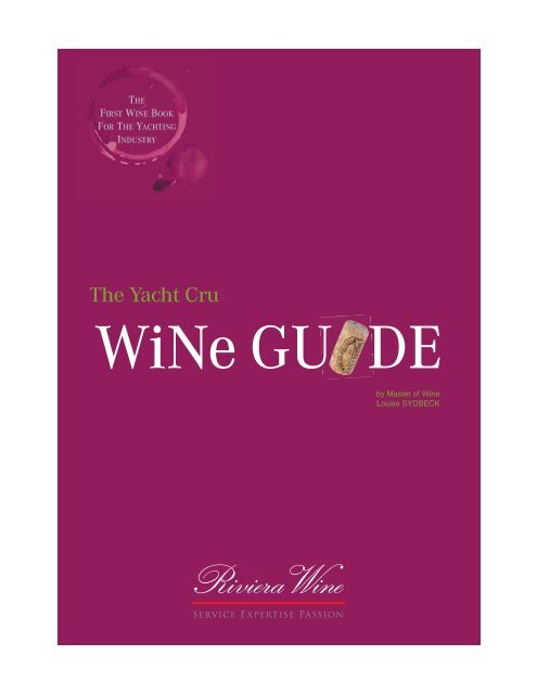 Louise Sydbeck - Riviera Wine - The Yacht Cru Wine Guide