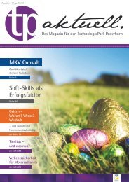 Soft-Skills als Erfolgsfaktor - TechnologiePark - Paderborn