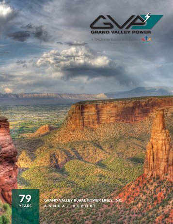 2015 Grand Valley Power Annual Report