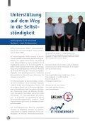 Unterstüzung auf dem Weg in die Selbstständigkeit Sprachschule im ... - Seite 6