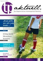 Erfolg durch Menschen- kenntnis - TechnologiePark - Paderborn