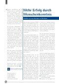 Erfolg durch Menschen- kenntnis - TechnologiePark - Paderborn - Seite 6