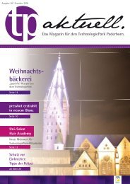 Weihnachts- bäckerei - TechnologiePark - Paderborn