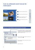 Sony DSC-T900 - DSC-T900 Mode d'emploi Roumain - Page 2