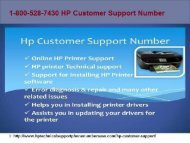 18005287430 HP Customer Support