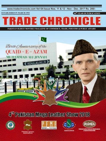 TRADE CHRONICLE NOVEMBER, DECEMBER 2017
