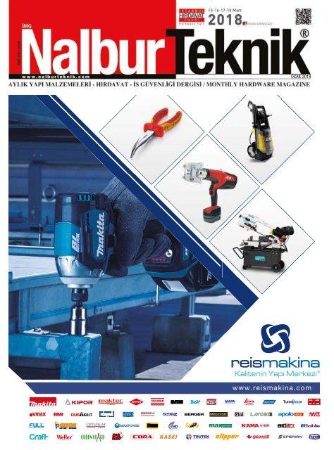 2277b970565e9 Nalbur Teknik Dergisi Ocak 2018 Sayısı