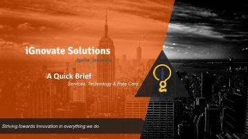iGnovate Solutions Brief V1.0