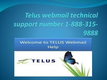Telus Email Customer Service Number | Technical Support
