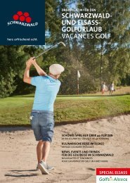 Das Magazin für den Schwarzwald- und Elsass-Golfurlaub 2018