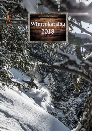 VintoServices Winterkatalog 2018