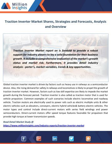 Traction Inverter Market Shares, Strategies and Forecasts, Analysis and Overview