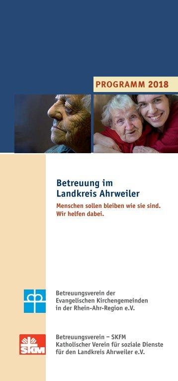 Betreuung im Landkreis Ahrweiler 2018