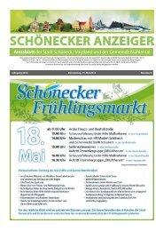 Schönecker Anzeiger Mai 2014