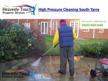 High Pressure Cleaning South Yarra