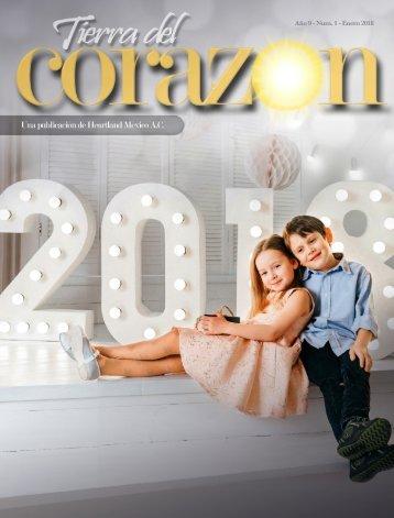 Tierra del Corazón Magazine: Enero 2018