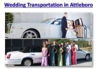 Wedding Transportation Details in Attleboro