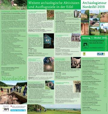 Ausflugsziele in der Eifel - Archäologietour Nordeifel