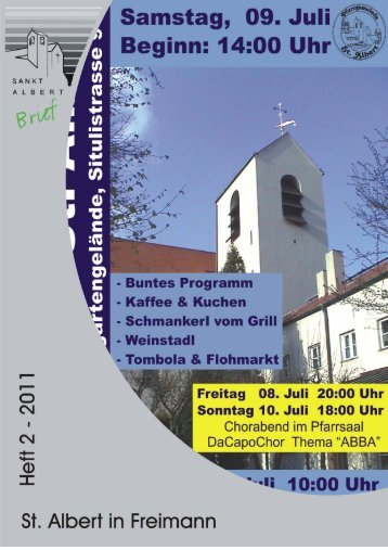 Nr. 2/2011 - Pfarrei St. Albert
