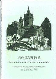 50 Jahre Schwimmverein Altena 08 e.V.
