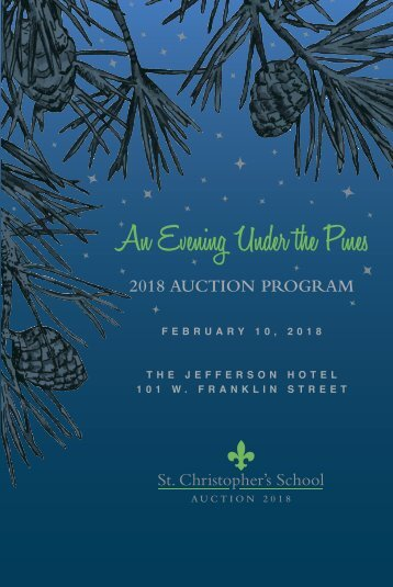 2018 auction program