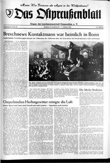 r - Archiv Preussische Allgemeine Zeitung