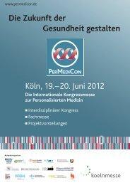 Kongressprogramm | Mittwoch, 20. Juni 2012 - BIO.NRW